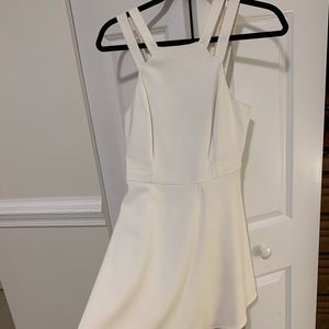 French Connection white dress. Size 4